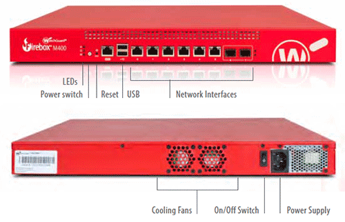 WatchGuard Firebox M400 & M500 Detailed Specs